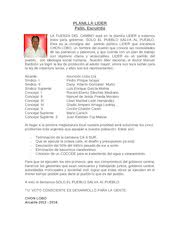 Documento PDF planilla lider palin