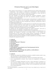 Documento PDF primeres mesures per uina vida digna