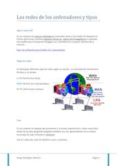 Documento PDF las redes de los ordenadores y tipos