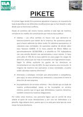 Documento PDF nota pikete