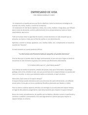 Documento PDF empresario de vida
