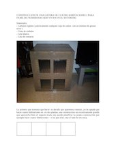 Documento PDF construccion de una gatera
