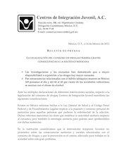 Documento PDF bolet n oposici n a legalizaci n cij 15 febrero 2012