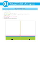 Documento PDF montage y obtenci n de la forma impresora