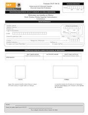Documento PDF solicitud registro de cedula profesional