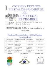 Documento PDF v torneo petanca fiestas de san miguel 2012 cullar vega