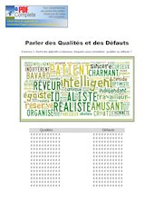 Documento PDF qualites et defauts