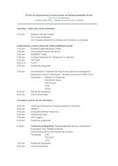 Documento PDF programa ii foro de experiencias constructivas de responsabilidad social
