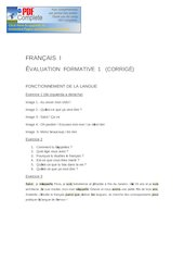 Documento PDF fr1 formative 1 corrige