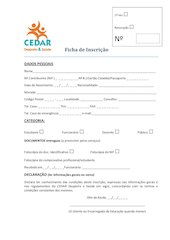 Documento PDF ficha de inscric o