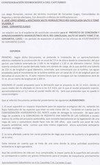 Documento PDF recogida de firmas embalse de santo tome