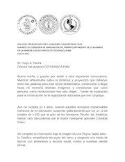 Documento PDF discurso