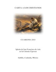 Documento PDF cuaresma 2013