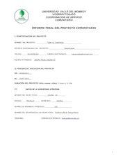 Documento PDF formato informe