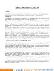 Documento PDF perros de rescate