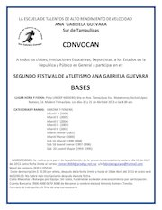 Documento PDF convocatoria segundo festival atletismo