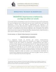 Documento PDF comunicado via crucis migrante 2013 vf