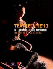 Documento PDF bases iv festival de teatro amateur de bodonal de la sierra teatrearte 13 1