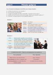 Documento PDF francais i lecons 11 et 12