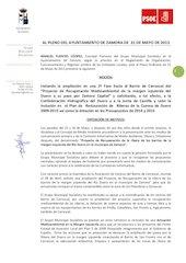 Documento PDF a 0513 moci n 2 fase ampliaci n a barrio carrascal proyecto riberas duero pleno 31 05 13