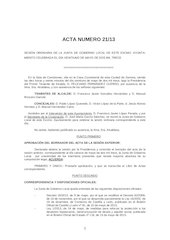 Documento PDF 20130521acta aprobada junta de gobierno local de 21 mayo 2013
