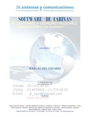 Documento PDF manual software cabinas 321 419 68 53 1 467 96 08
