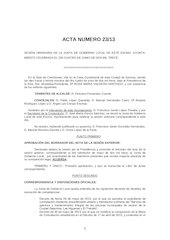 Documento PDF 20130604 acta junta de gobierno local ayto zamora 4 junio 2013