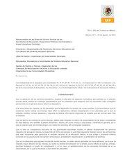 Documento PDF normas de control escolar 2011