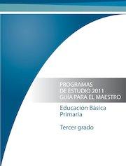 Documento PDF programa 3 primaria 2011