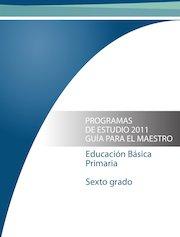Documento PDF programa 6 primaria 2011