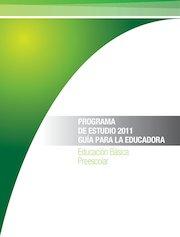 Documento PDF programa preescolar 2011