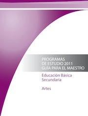 Documento PDF programa secundaria artes 2011