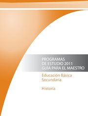 Documento PDF programa secundaria historia 2011