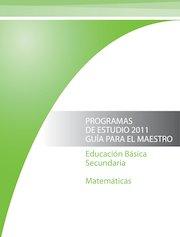 Documento PDF programa secundaria matematicas 2011