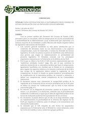 Documento PDF comunicado federacion concejos espanola