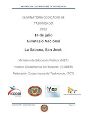 Documento PDF invitacion eliminatoria codicader 2013