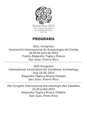 Documento PDF programa 25to congreso aiac iaca 2013