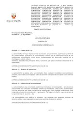 Documento PDF nueva ley universitaria