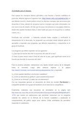 Documento PDF actividades para el alumno
