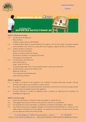 Documento PDF reglamento de la rana