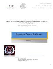 Documento PDF reglamento cbtis 211 2013