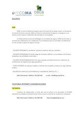 Documento PDF 2013 convenios de fecoma actualizado 31 08 2013