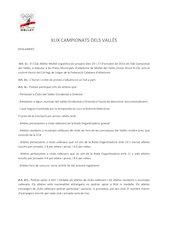 Documento PDF 50e campionats dels vall s