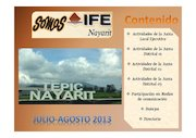 Documento PDF revista somos ife nayarit numero 1