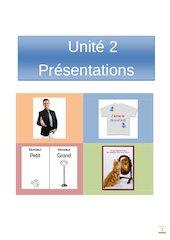 Documento PDF francais 1 unite 2