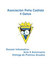 Documento PDF dossier 4 gatos 2013