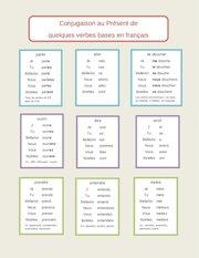 Documento PDF verbes au present