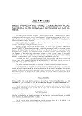 Documento PDF 20130930 acta pleno ayto zamora de 30 de septiembre 2013