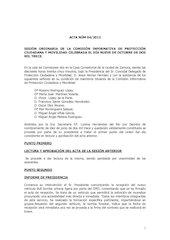 Documento PDF 20131009 acta ci portecci n ciudadana y movilidad de 9 de octubre 2013 1