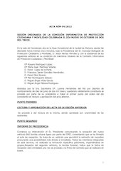 Documento PDF 20131009 acta ci portecci n ciudadana y movilidad de 9 de octubre 2013